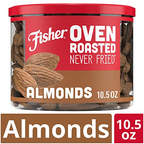 FISHER Snack Roasted Never Almonds product image