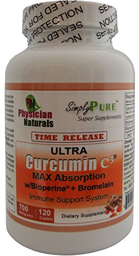 51I7lUut9SL - Ultra CURCUMIN Time Release w Bioperine 700mg 120 Tabs MAX Absorption
