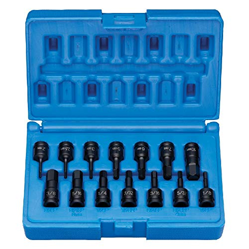 Grey Pneumatic  1/4DR 14PC FRAC/MET