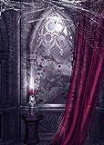 GladsBuy Scary House 5' x 7' Digital Printed Photography Backdrop KA Series Background KA014