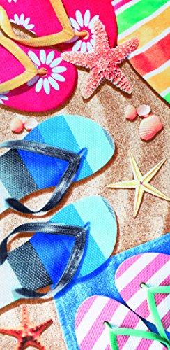 Sandals velour brazilian beach towel 30x60 inches