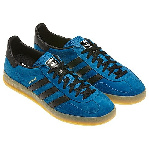 adidas GAZELLE INDOOR SHOES G63197 DARK ROYAL/BLACK/GUM