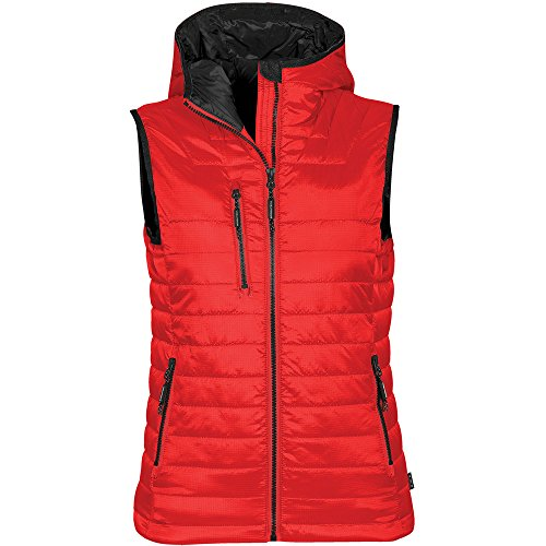 Black Thermal Stormtech Gravity True Ladies Vest Red 8naY7