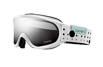 Carrera Arthemis - Gafas de ventisca de esquí (cristales polarizados), diseño de puntos