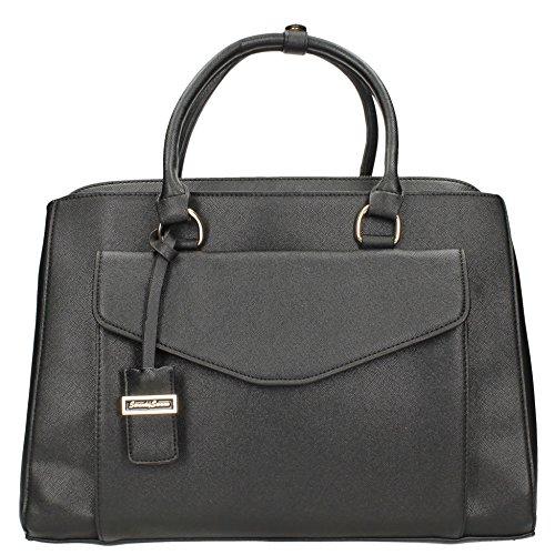 Amy tascabile, da borsetta da spalla da donna, da donna, misura grande, motivo: Fashion, SWANKYSWANS Tote Handbags Black
