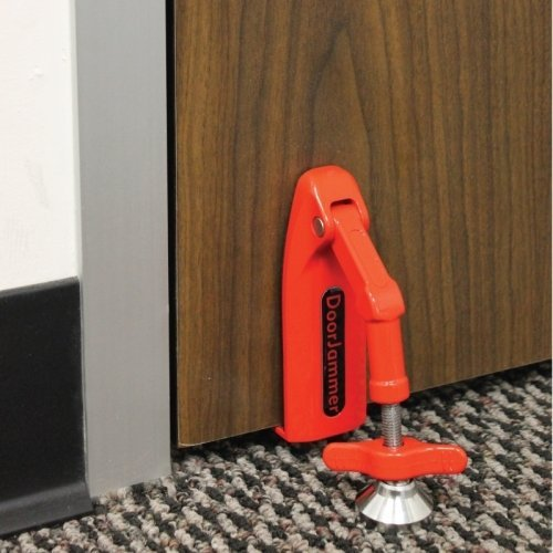 - Strategic Cutting Edge Group DVRCS Door Jammer: Portable Security Device Red
