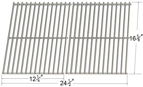 52932 MCM - Centro, Charbroil, Front Avenue, Fiesta, Kenmore, Kirkland, Kmart, Master Chef, and Thermos Gas Grill Porcelain Steel Wire Cooking Grid/Cooking Grates