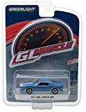 javelin 1 - NEW 1:64 GREENLIGHT MUSCLE SERIES 18 COLLECTION - BLUE 1971 AMC JAVELIN AMX Diecast Model Car By Greenlight