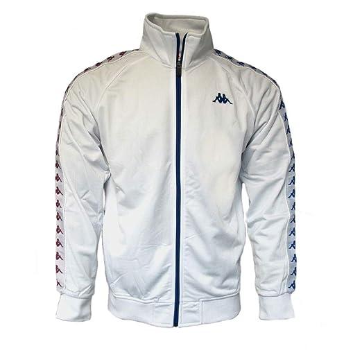 01f25a47 Kappa Men's Clothing Sweatshirt with Zip 301EFU0 C35 Banda Anniston Slim