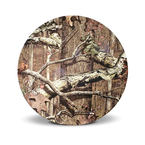 Mossy Oak Break-Up Infinity Melamine Dinner Plate, 11-Inch - Oak Plate Rack