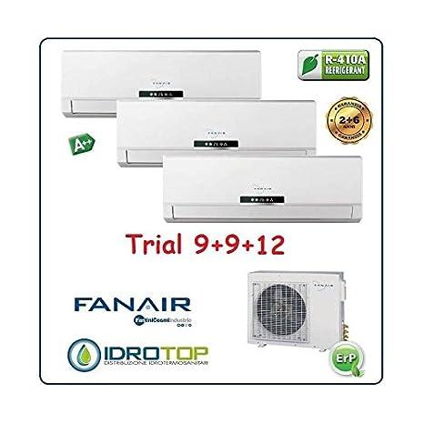Climatizador Trial 3 Split Aire acondicionado inverter dc ...