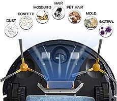 NEATSVOR V392 Robot Aspirador y fregasuelos 4 en 1,Navegación ...