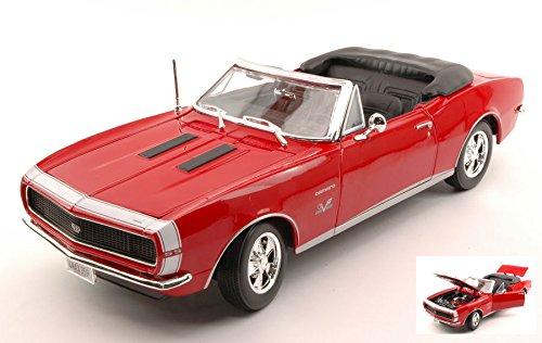 CHEVROLET CAMARO SS 396 1967 rosso 1 18 - Maisto - Auto Stradali - Die Cast - Modellino