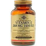 Solgar - Vitamin E 400 IU (d-Alpha Tocopherol & Mixed Tocopherols) 100 Vegetarian Softgels