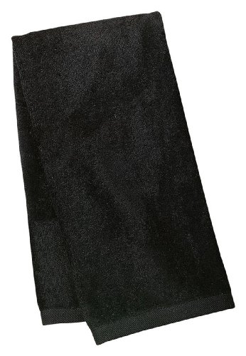 port-authority-perfect-sport-towel-black-one-size-tw52