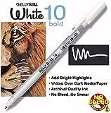 Sakura Gelly Roll Classic Pen Bold 10 White (31031)