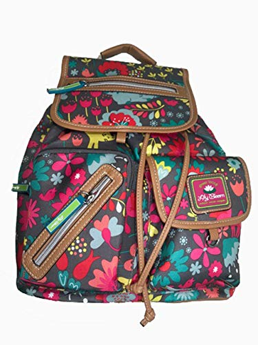 Lily Bloom Riley Multi-Purpose Backpack, Playful Garden  ()
