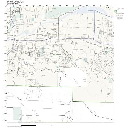 Amazon.com: ZIP Code Wall Map of Loma Linda, CA ZIP Code Map ... on belmont shores ca map, erwin lake ca map, fort worth ca map, moreno valley ca map, baldwin lake ca map, california map, passo robles ca map, la conchita ca map, redlands ca map, feather falls ca map, foothills ca map, irwindale ca map, goffs ca map, hammil valley ca map, carmichael sacramento ca map, mira loma ca map, rialto ca map, mt hamilton ca map, los angeles ca map, mountain mesa ca map,