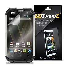 (6-Pack) EZGuardZ Screen Protector for Caterpillar CAT B15 (Ultra Clear)