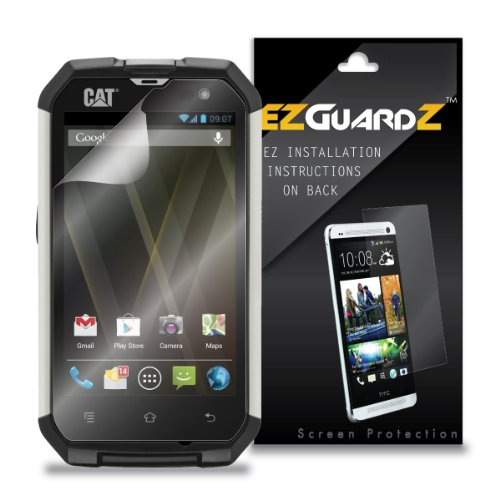 (2-Pack) EZGuardZ Screen Protector for Caterpillar CAT B15 (Ultra Clear)