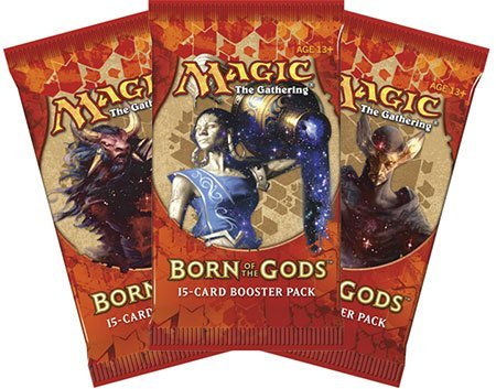 3 (Three) Packs of Magic: the Gathering - MTG: Born of the Gods Booster Pack Lot (3 Packs)