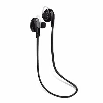 Bluetooth Auriculares Inalámbricos, Magiyard Auriculares Manos Libres Bluetooth Manos Libres Estéreo Auriculares Deporte Universal (Negro): Amazon.es: ...