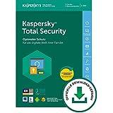 Kaspersky Total Security 2018 | 3 Geräte | 1 Jahr | Aktivierungscode & Datenrettung by EaseUS CD-ROM