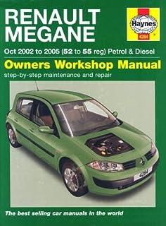 renault megane petrol diesel 2002 to 2008 service repair rh amazon co uk renault megane 2 manual service renault megane 2 2006 manual