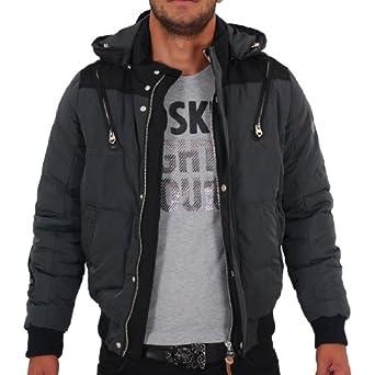 d4ac0794ef81 Doudoune Redskins Jason Ardoise (M)  Amazon.fr  Vêtements et accessoires