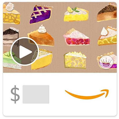 (Amazon eGift Card - Thankful For You and Pie (Animated) [Hallmark])