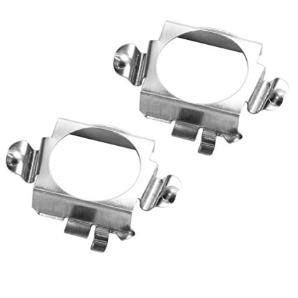 Amazon com: H7 LED Headlight Bulb Clips Holder Socket Base