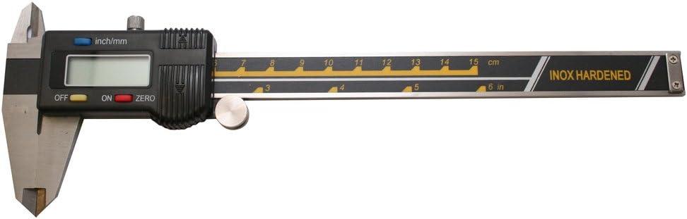 Multicolour Skandia 1043521 Digital Vernier Calipers 150 mm