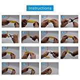 200 Set Snap Fastener Tool 10 Colors Solid