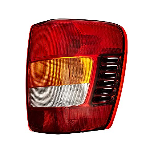 Epic Lighting OE Fitment Replacement Rear Brake Tail Light Assembly for 2002-2004 Jeep Grand Cherokee [CH2801150 55155138AH|55155138AJ] Right Passenger Side RH