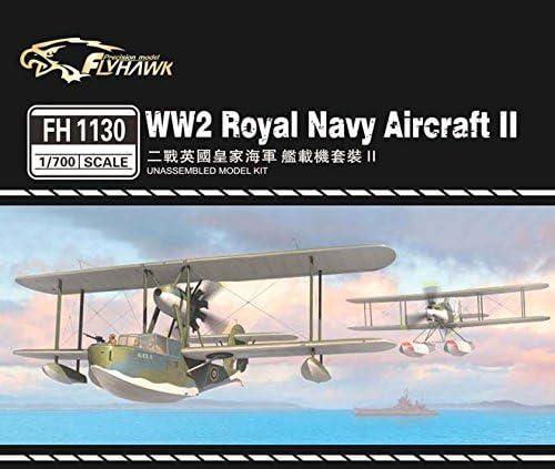フライホークモデル 1/700 第二次世界大戦 イギリス海軍 艦載機セット2 プラモデル FLYFH1130