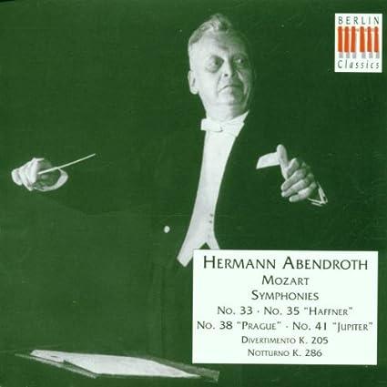 Symphonies 33 35 38 & 41