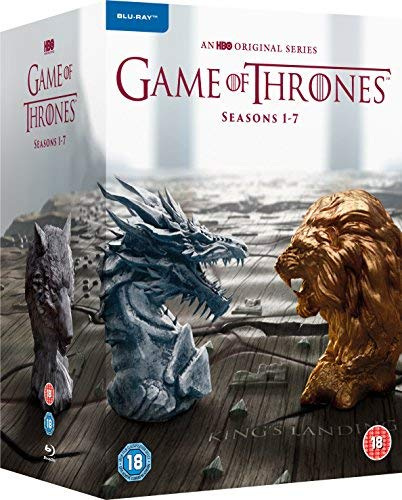 Movie cover for Game of Thrones - Season 1-7 [Blu-ray] [2017] [Region Free]