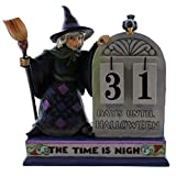 Jim Shore for Enesco Heartwood Creek Halloween Count Down Calendar, 6.5-Inch