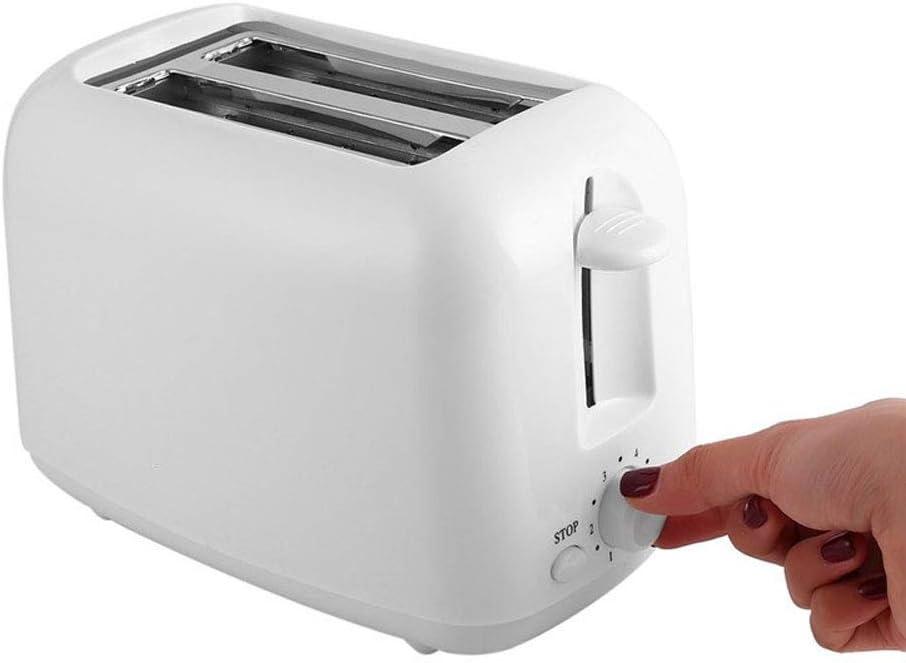 NAFE Tostadora automática, 800 W de Dos Piezas, Calentamiento del Tubo de Calentamiento, operación de botón, se Puede Usar para Regalos de Negocios