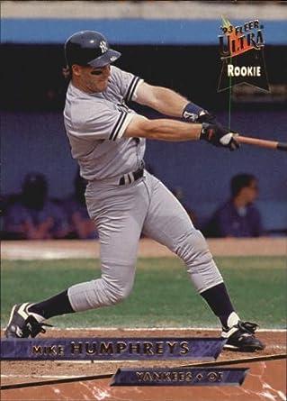 Amazoncom 1993 Ultra Baseball Card 595 Mike Humphreys