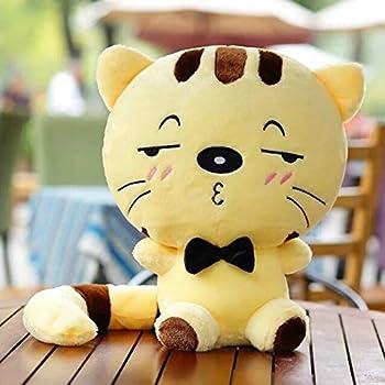 Amazon Com Dongcrytal 15 7 Yellow Cat Plush Stuffed Animal Toys