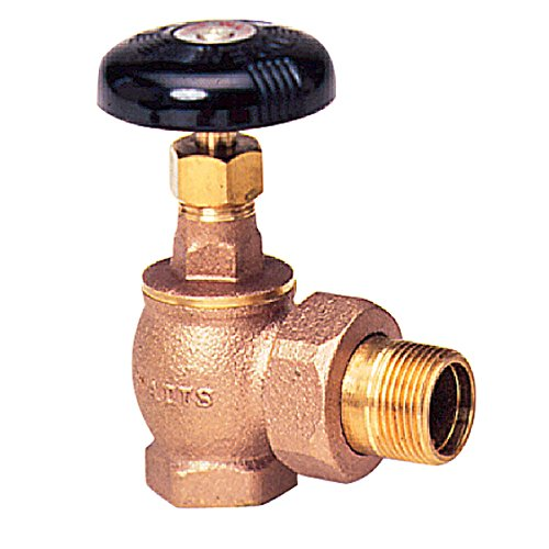Watts Regulator Co. Series Ra-1-Ap Bronze Steam Radiator Angle Valves