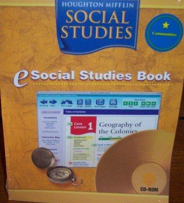 Houghton Mifflin Social Studies: eSocial Studies CD-ROM Grade 3 Communities 2005 ebook