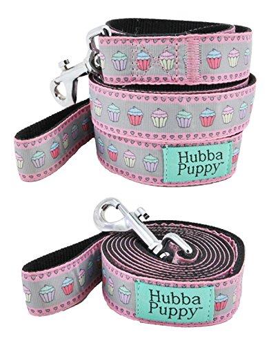 Hubba Puppy Pastel Cupcakes Nylon Large Dog Leash 1