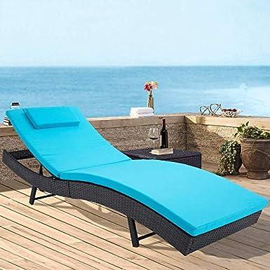 Amazon.com: Incbruce - Juego de sillas ajustables para patio ...