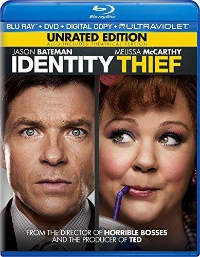 Identity Thief - Unrated Edition (Blu-ray + DVD + Digital Copy + UltraViolet) by Universal by Seth Gordon (Identity Blu Ray)