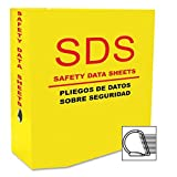 Aurora Products 13088 D-Ring SDS-2 5.0'' Binder Yellow
