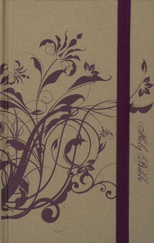 NIV, Thinline Craft Collection Bible, Hardcover, Tan/Purple, Red Letter Edition