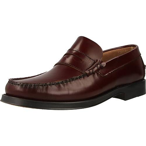 Mocasines para Hombre, Color Rojo, Marca PRIVATA, Modelo Mocasines para Hombre PRIVATA M2500 Rojo: Amazon.es: Zapatos y complementos
