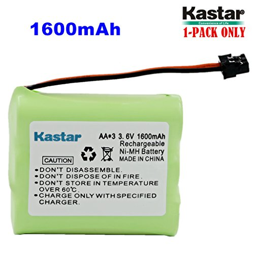 Kastar 1-PACK AA3 3.6V 1600mAh MSM Ni-MH Rechargeable for sale  Delivered anywhere in USA
